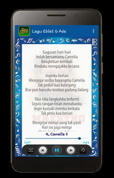 Lagu Ebiet G. Ade plus Lyric screenshot 6