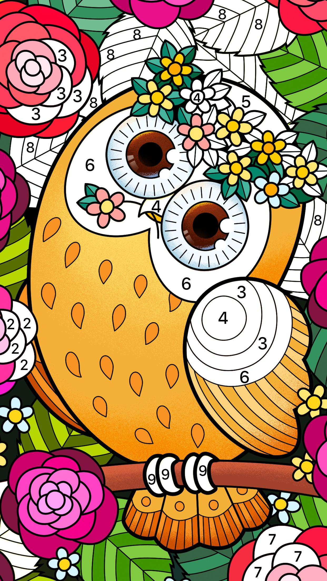Color Fun - Color by Number & Coloring Books für Android - APK ...