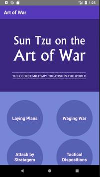 Sun Tzu On The Art of War poster
