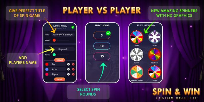Spin Roulette : Decision Maker poster