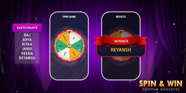Spin Roulette : Decision Maker screenshot 4