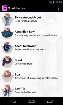 Scarf Fashion Designer 截圖 1