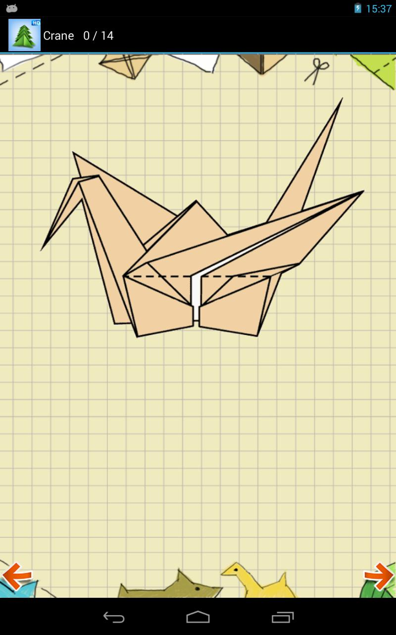 3d origami for kids: origami crane instructions | 1280x800
