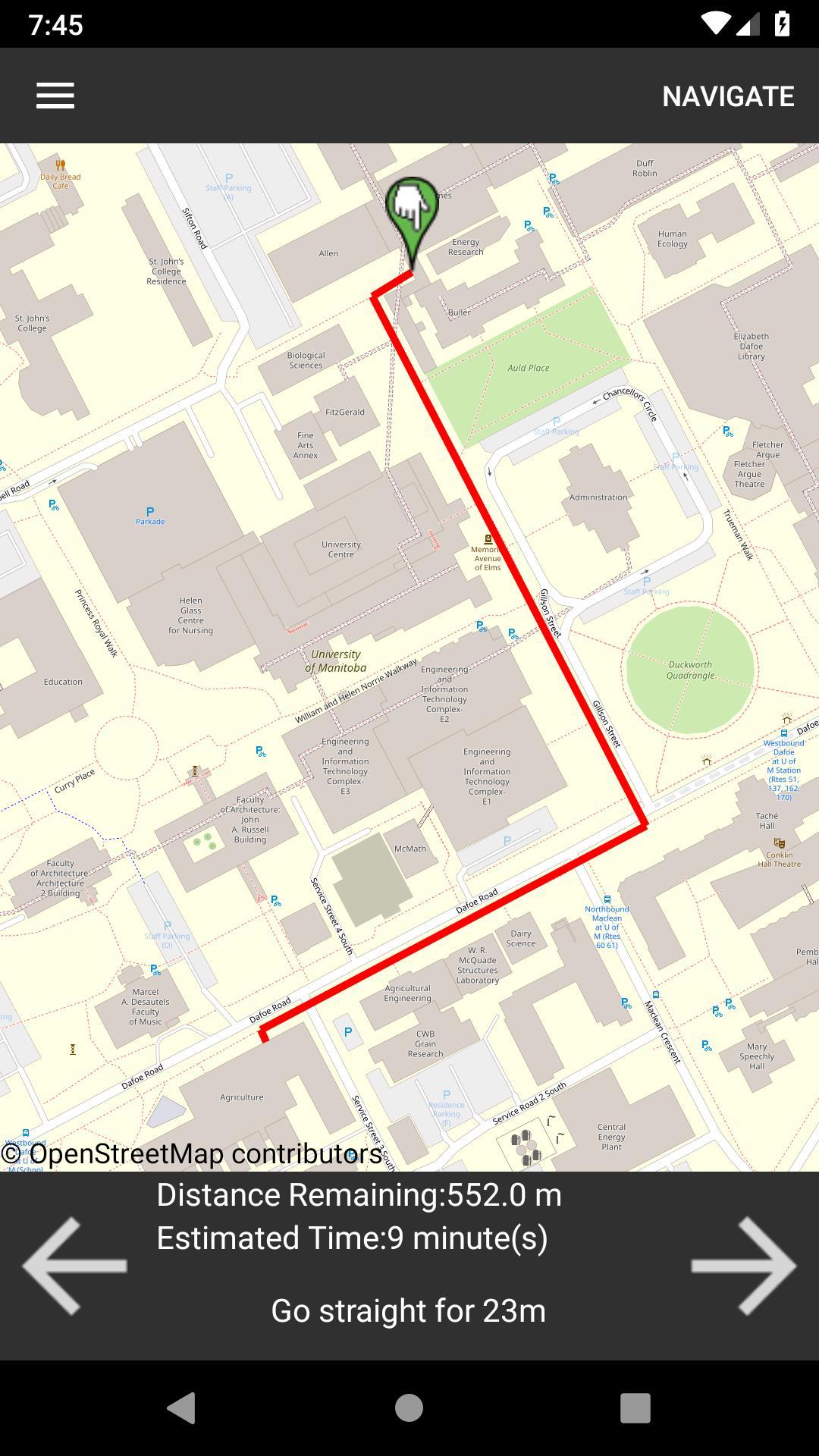 University Of Manitoba Campus Map University of Manitoba Campus Map for Android   APK Download