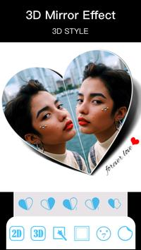 Photo Mirror Pro -PIP Collage Frame Photo Editor 截图 1