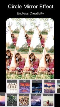 Photo Mirror Pro -PIP Collage Frame Photo Editor 截图 3
