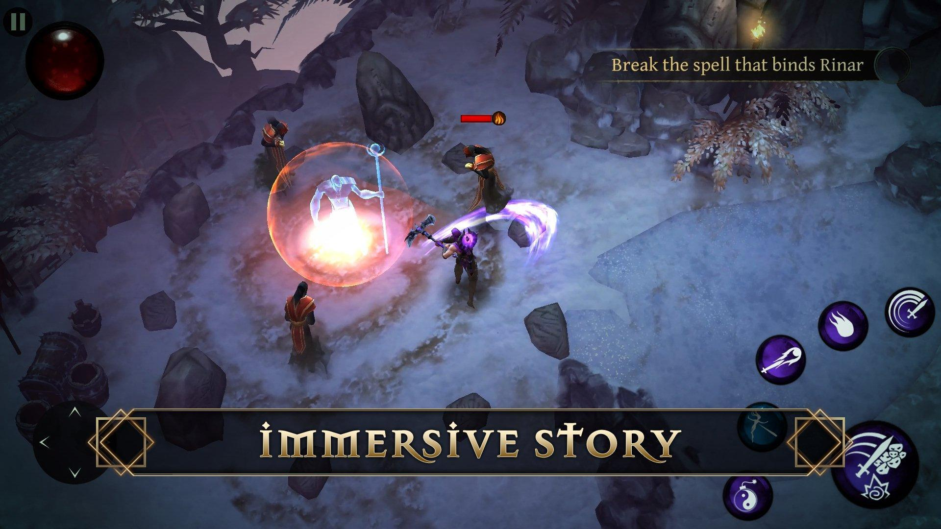 Blade Bound Legendary Hack And Slash Action Rpg For Android Apk