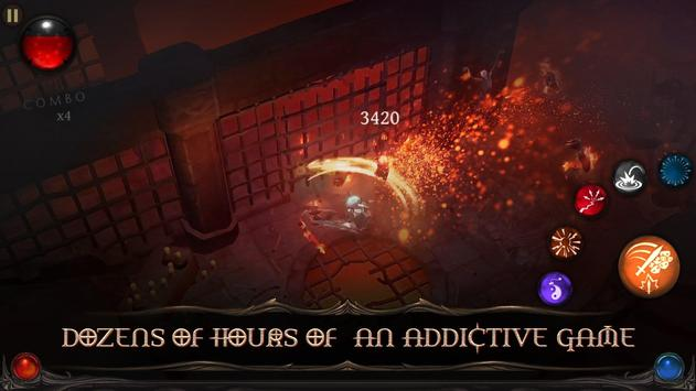 Blade Bound: Hack and Slash of Darkness Action RPG screenshot 2