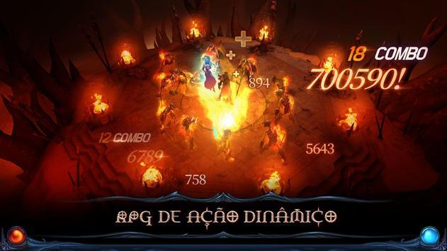 Blade Bound: Hack and Slash of Darkness Action RPG imagem de tela 3