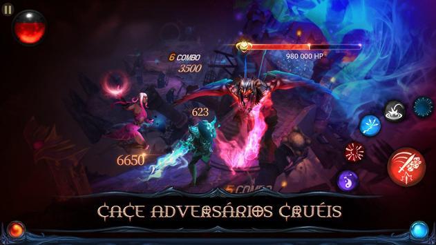 Blade Bound: Hack and Slash of Darkness Action RPG imagem de tela 1