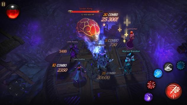 Blade Bound: Hack and Slash of Darkness Action RPG imagem de tela 21