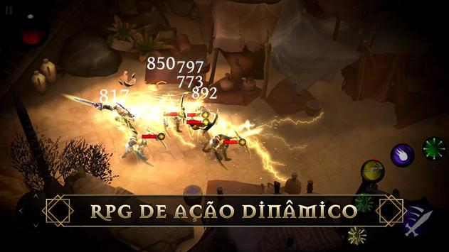 Blade Bound: Legendary Hack and Slash Action RPG imagem de tela 22