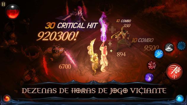 Blade Bound: Hack and Slash of Darkness Action RPG imagem de tela 2
