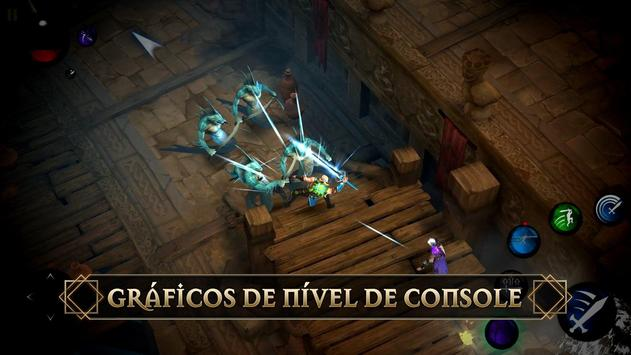 Blade Bound: Legendary Hack and Slash Action RPG imagem de tela 7