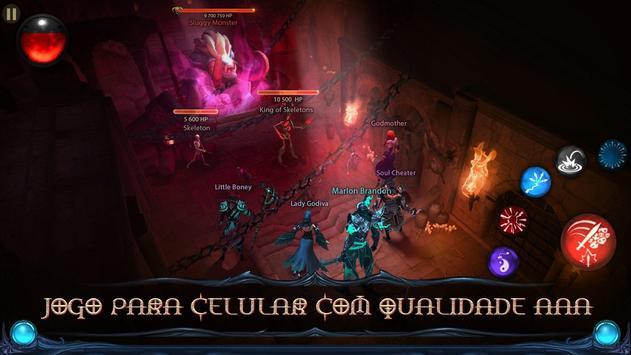 Blade Bound: Hack and Slash of Darkness Action RPG imagem de tela 4