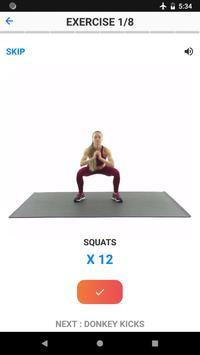 Butt and Abs Workout Screenshot 5