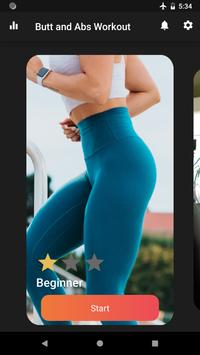 Butt and Abs Workout Plakat
