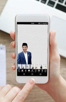 Jokowi Photo Editor Selfie 2019 screenshot 1