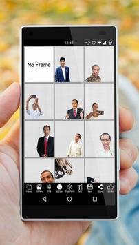 Jokowi Photo Editor Selfie 2019 screenshot 3