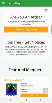 Artist Diary screenshot 1