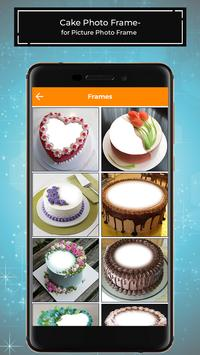 Cake Photo Frames for Pictures - PhotoEditor poster