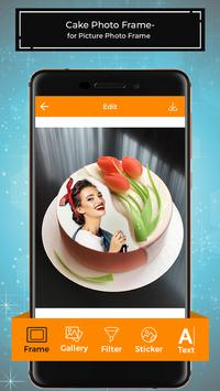 Cake Photo Frames for Pictures - PhotoEditor screenshot 1