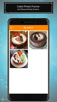 Cake Photo Frames for Pictures - PhotoEditor screenshot 4