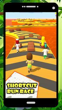 Shortcut Run Race 3D poster