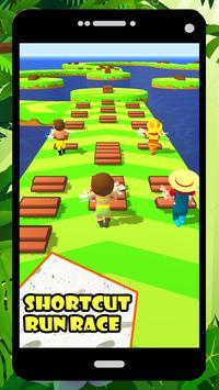Shortcut Run Race 3D screenshot 2