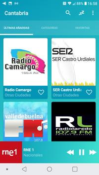 Radio Cantabria Online screenshot 7