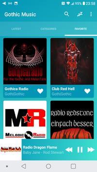Radio Gothic Music Online screenshot 4