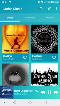 Radio Gothic Music Online screenshot 6