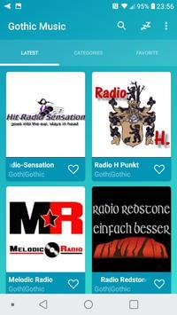 Radio Gothic Music Online poster