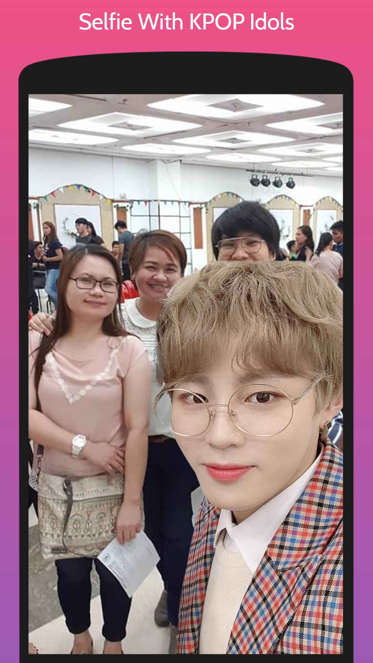 Selfie With KPOP Idols Male for Android - APK Download