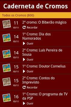 Caderneta de Cromos screenshot 1