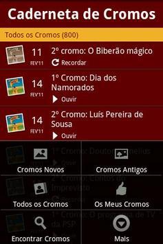 Caderneta de Cromos screenshot 2