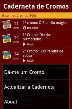 Caderneta de Cromos screenshot 3