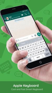 iphone keyboard apk ios 12