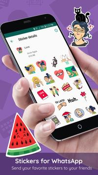 Stickers for WhatsApp screenshot 1