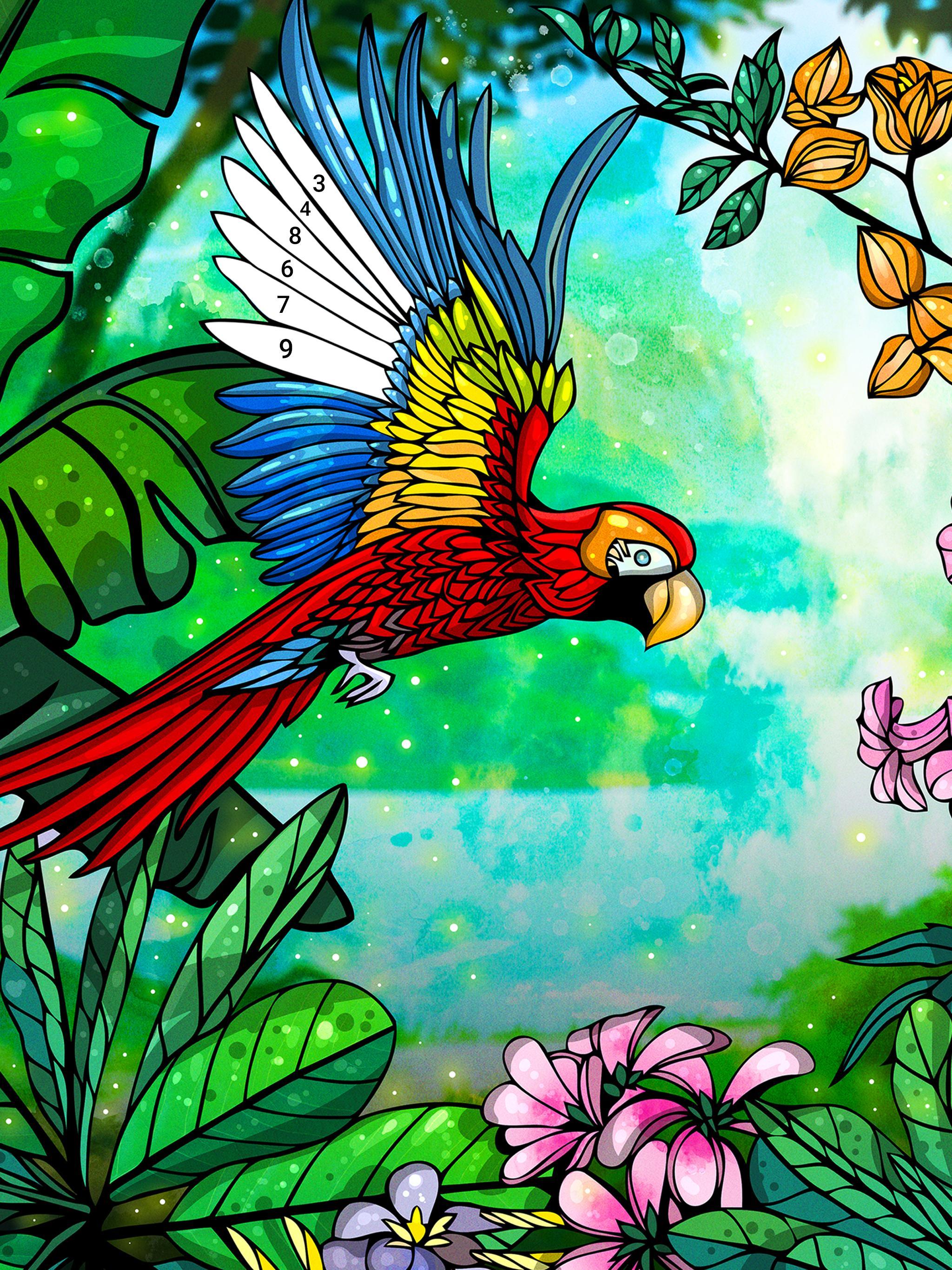 Relax Color - Книжка-раскраска для взрослых для Андроид ...