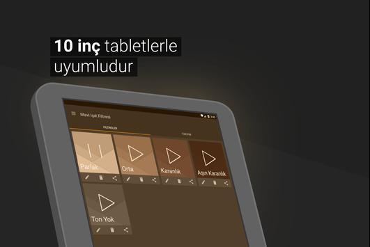 Mavi Işık Filtresi - Migrene Karşı Gece Modu Pro Ekran Görüntüsü 8