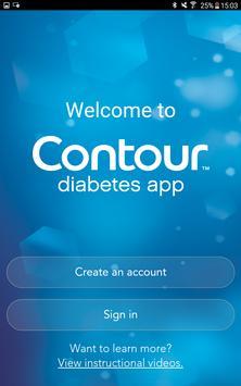 CONTOUR DIABETES app (RO) poster