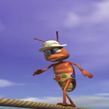 Music The Cockroach for children poster