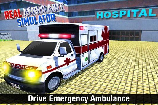 Real Ambulance Simulator poster
