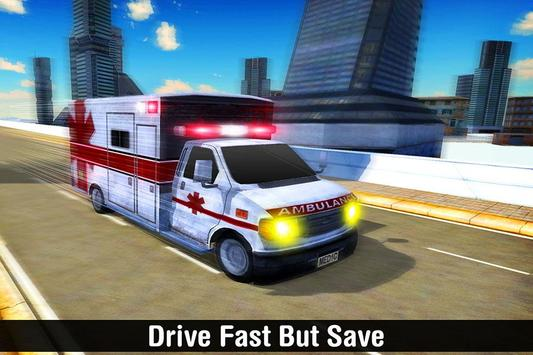 Real Ambulance Simulator screenshot 2