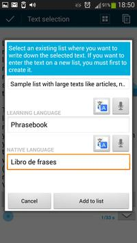 Learn Languages With Lists screenshot 13