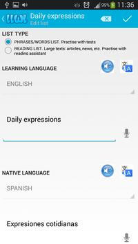Learn Languages With Lists screenshot 2