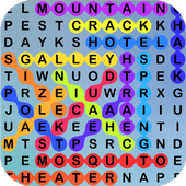 Word Search, A Seek & Find Crossword Puzzle Game icon
