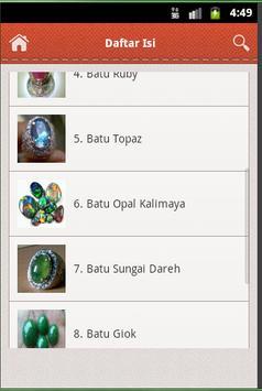 Jenis Batu Akik screenshot 2