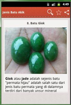 Jenis Batu Akik screenshot 3
